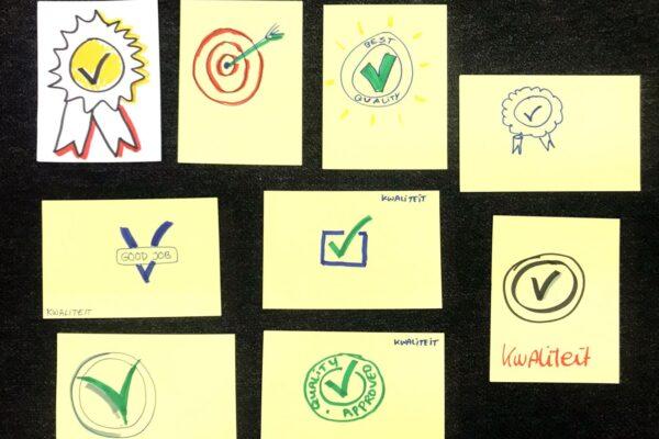 Zakelijk tekenen vaksymbolen